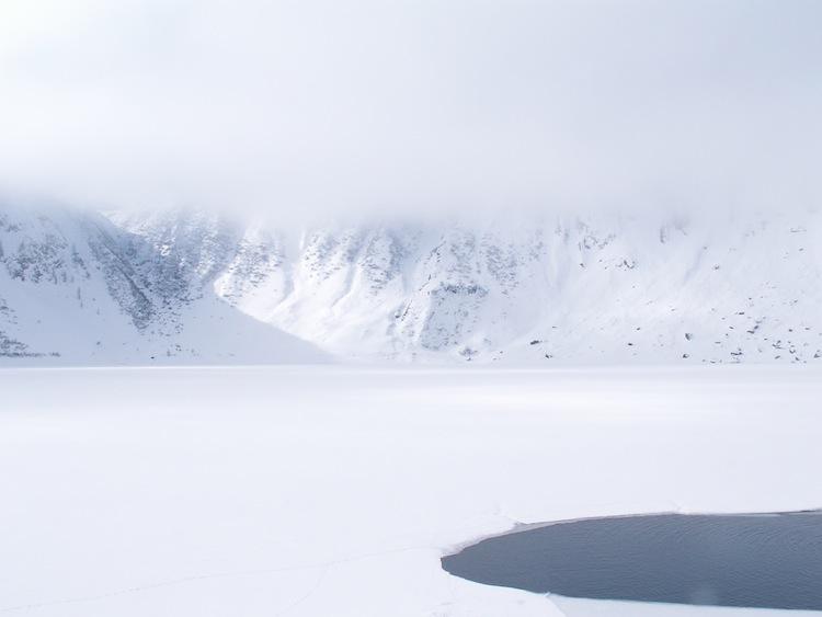 lago ghiacciato nell'ora di filosofia