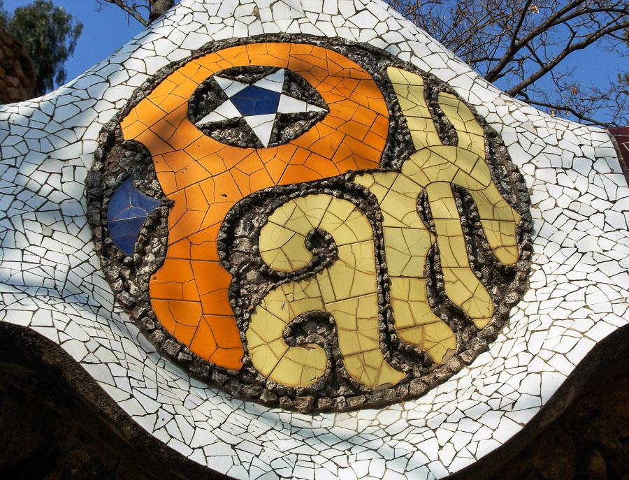 park quel, opera di Gaudi, l'architetto di Dio