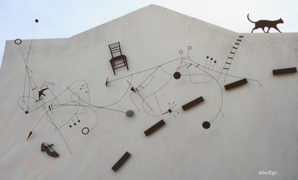 Cordoba (parete con gatto)