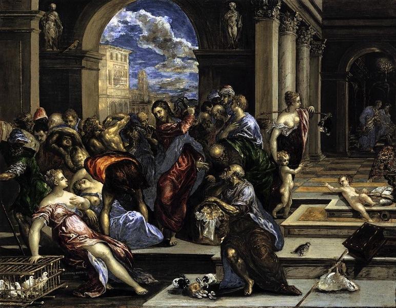El Greco (Gesù caccia i mercanti dal tempio)
