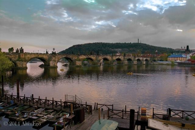 il dolce fuggire - Praga e il Karlův most