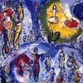 Per il mio funerale... Marc Chagall, Le Grand Cirque.