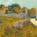 Farmhouse in Provence, Vincent van Gogh. Autunno.