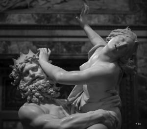 Bernini, il ratto di Proserpina