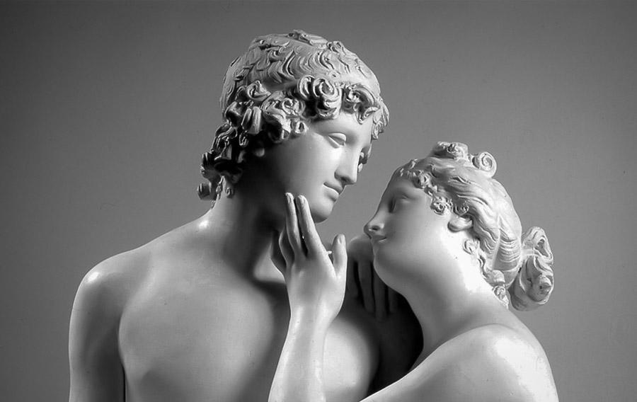 Antonio Canova, Venere e Adone, la carezza